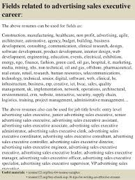 Sample Sales Executive Resume by Top 8 Advertising Sales Executive Resume Samples