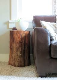 How To Build A Stump by How To Make A Stump Table Inspire Me Heather Homeski