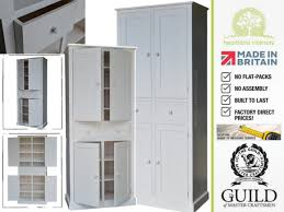 Tall Kitchen Storage Cabinets by Handmade Kitchen Larder Units With Care From Heartland Interiors