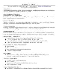 resume for exle 13 basic computer skills resume and resume template