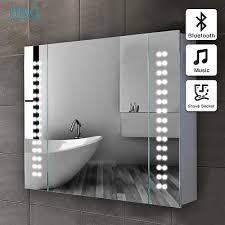 Led Illuminated Bathroom Mirror Cabinet by Led Mirror Zeppy Io