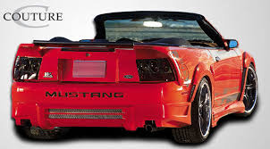 99 mustang bumper free shipping on couture 99 04 ford mustang rear bumper cover
