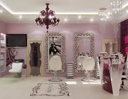 Home Salon Decorating Ideas Best 25 Glam Hair Salon Ideas On Pinterest Makeup Vanity Tables