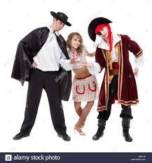 halloween carnival background dancer team wearing halloween carnival costumes dancing against