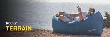Bean Bag Bed Shark Tank Kaisr Original The Ultimate Inflatable Air Lounge Indiegogo