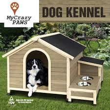 Doghouse For Large Dogs Extra Large Pet Dog House Timber House Wooden With Storage Box And