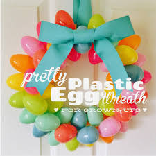 how to make an easter egg wreath 13 egg cellent easter egg crafts and treats homemaking easter