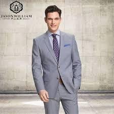 ln110 tuxedo for men business suits for groom wear light gray