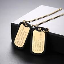 mens dog tags engraved custom mens dog tag necklace navy necklace personalized