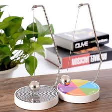 Magnetic Desk Accessories Creative Magnetic Decision Maker Swing Pendulum Office Desk