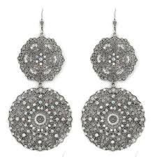 filigree earrings silver filigree earrings