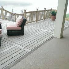 waterproof decking custom concrete coatings