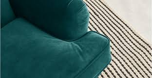 Orson Chair Orson Armchair Seafoam Blue Velvet Made Com