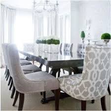 Fabric Dining Room Chairs Upholstered Dining Room Glamorous Grey Fabric Dining Room Chairs