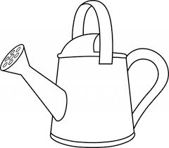 watering can coloring page wallpaper download cucumberpress com