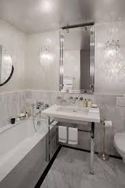 bathroom with wallpaper ideas unique wallpaper ideas apartment in new york