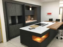 ex display rempp kitchen island and silestone worktops kitchen