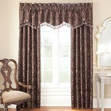 Bed Bath And Beyond Window Valances Waterford Linens Lansing Window Curtain Panel And Valance Bed
