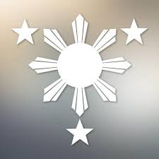 philippines flag 1 sun and 3 574 yoonek graphics
