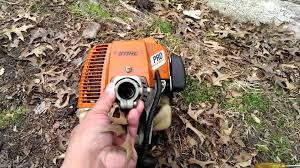 stihl ht 75 engine youtube