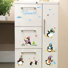 cute penguin wall stickers for kids animals nursery decals wall stickers for kids