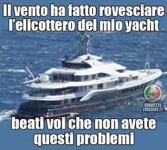 Yacht Meme - guai da ricchi divertenti funny funnypics humor humour