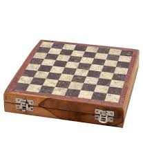 jaipur raga brown marble chess board buy online at best price on
