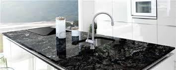 cuisine marbre noir granit noir notre fiche pratique