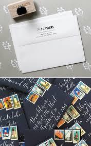 invitation addressing and mailing