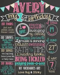 birthday boards chalkboard poster board 25 unique diy birthday board ideas on