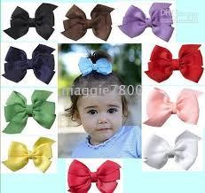 hair bows for babies ribbon bows hs 12 sweet hair accessories baby hair bows