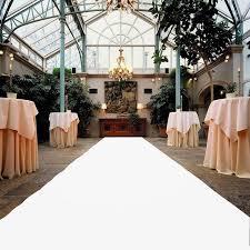 white aisle runner wedding aisle runner 1 2 meter width 10 meter length polyester