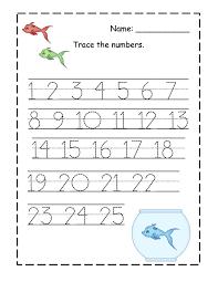 number tracing 1 10 worksheet division facts worksheets