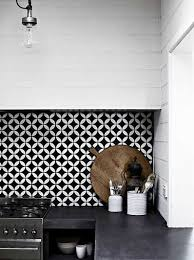 papier peint pour cuisine blanche papier peint pour meuble 14 cr233dence adh233sive noir et blanc