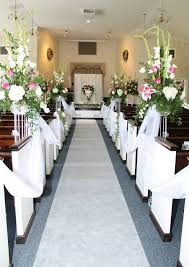 Wedding Aisle Decorations Church Wedding Aisle Decoration Creative Church Wedding