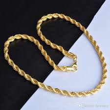 golden rope necklace images 2018 gold chains necklaces hot sale 6mm 18k golden rope chain men jpg