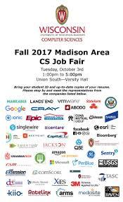 Cs Resume Computer Sciences Annual Job Fair Uw Madison Computer Sciences
