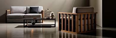 modern wood sofa contemporary sofa ash fabric 3 seater dorsoduro 143pl by
