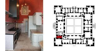 plan cuisine moderne the modern kitchen château d ancy le franc