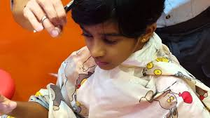 baby aadhira hair cut at singapore qb house youtube
