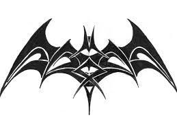 photo collection tribal batman logo tattoo