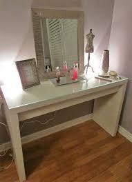 Diy Makeup Vanity Chair Best 25 Ikea Vanity Table Ideas On Pinterest White Makeup