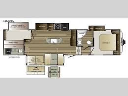 Fifth Wheel Floor Plans Cougar Fifth Wheel Rv Sales 16 Floorplans