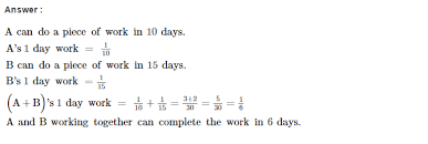 and work rs aggarwal class 8 maths solutions cce test paper