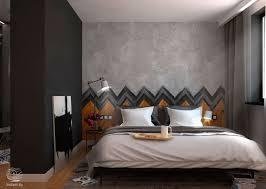 bedroom wall texture designs looks so fancy roohome designs
