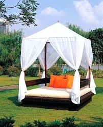 Outdoor Daybed With Canopy Daybed Garden Outdoor Daybeds For A Lazy Afternoon Patio Outdoor