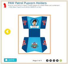 paper fan http www nickjr printables paw patrol fan