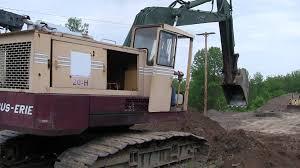 big dig 2010 bucyrus erie 20 h excavator 5 22 2010 youtube