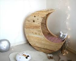 diy pallet moon shaped baby cradle 99 pallets