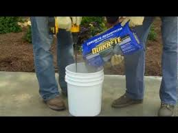 Concrete Patio Resurfacing Products How To Use Quikrete Concrete Resurfacer The Home Depot Youtube